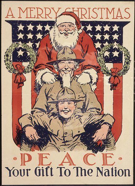 პირველი მსოფლიო ომის დროინდელი ილუსტრაცია, 1918 წ.